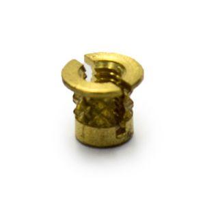 M3.5 Reverse Headed Brass Insert