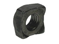 Picture of a DIN 923 square weld nut