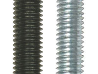 Picture of Various finishes of steel threaded rods